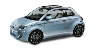 Nuova Fiat 500e cabrio