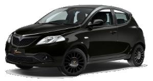 Lancia Ypsilon Black and Noir Alba e Bra